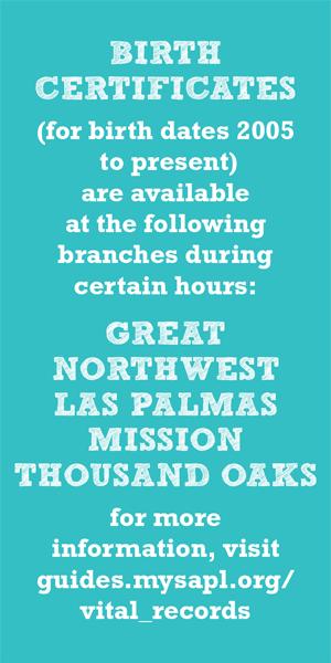 Mission Library San Antonio Public Library Vital Records
